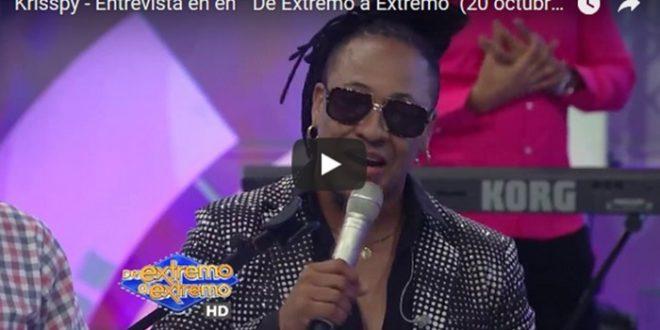 """Entrevista: Krisspy en """" De Extremo a Extremo"""""""