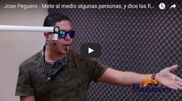 Jose Peguero – Mete al medio algunas personas, en el Mañanero