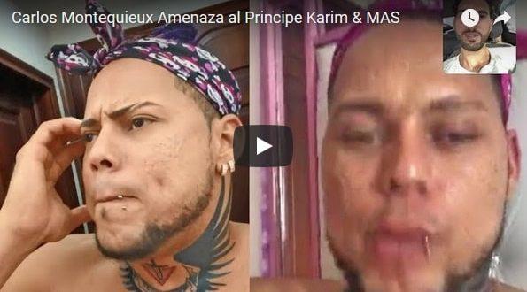 PLEITO¡¡ Carlos Montequieux Amenaza al Principe Karim & MAS