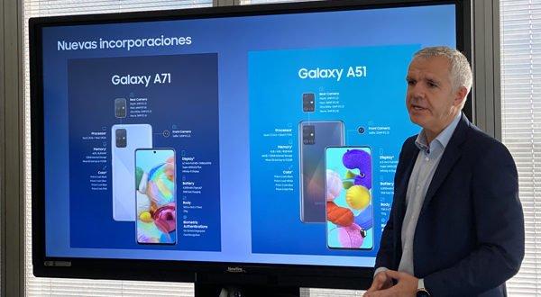 Samsung presume de liderazgo en la gama media de móviles