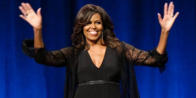 Michelle Obama comparte lista de música que incluye a Bruno Mars, Ed Sheeran y Cardi B