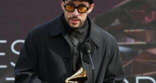Bad Bunny gana su primer Grammy