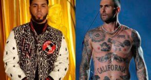 Anuel participará en el nuevo disco de Maroon 5