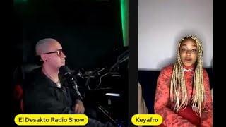 Entrevista Keyafro - El Desakto Radio Show por Delicia Fm